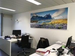 Akoestiek op kantoor optimaliseren met akoestisch wandpaneel