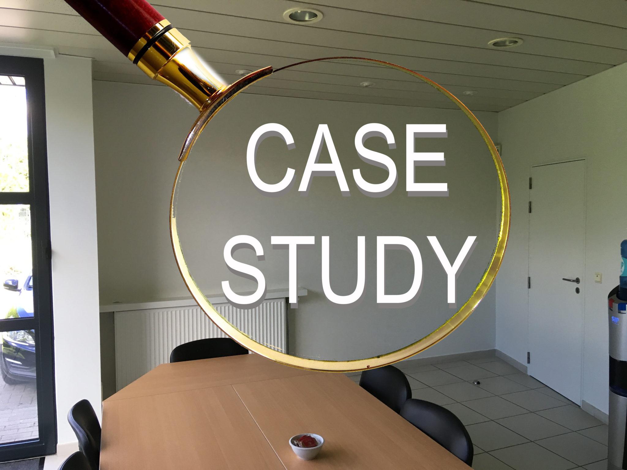 Voor- en na: Concrete case study
