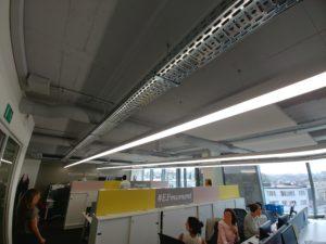 Akoestiek op kantoor verbeteren met akoestische scheidingswanden