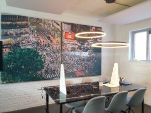 Akoestiek op kantoor verbeteren met akoestisch wandpaneel