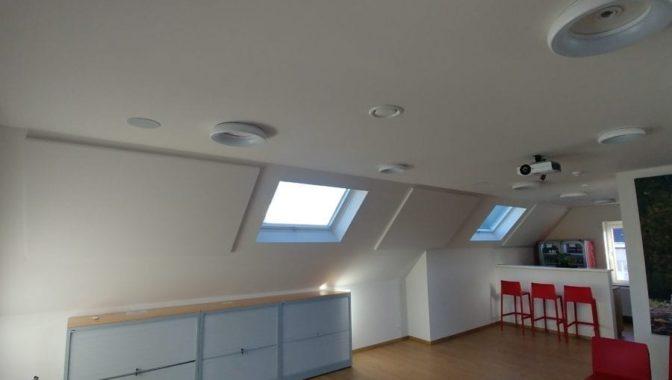 Duurzame plafondpanelen