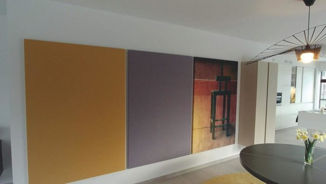 Akoestisch wand- en plafondpaneel Cotese Panel Moon
